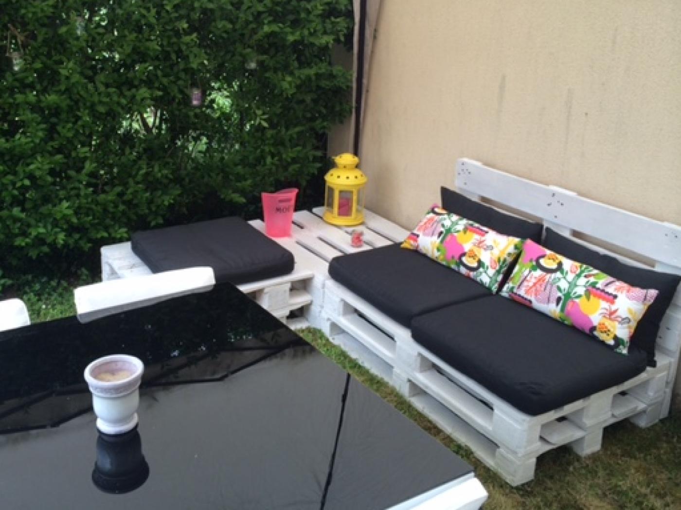 Mon salon de jardin en palettes (Blog Zôdio)