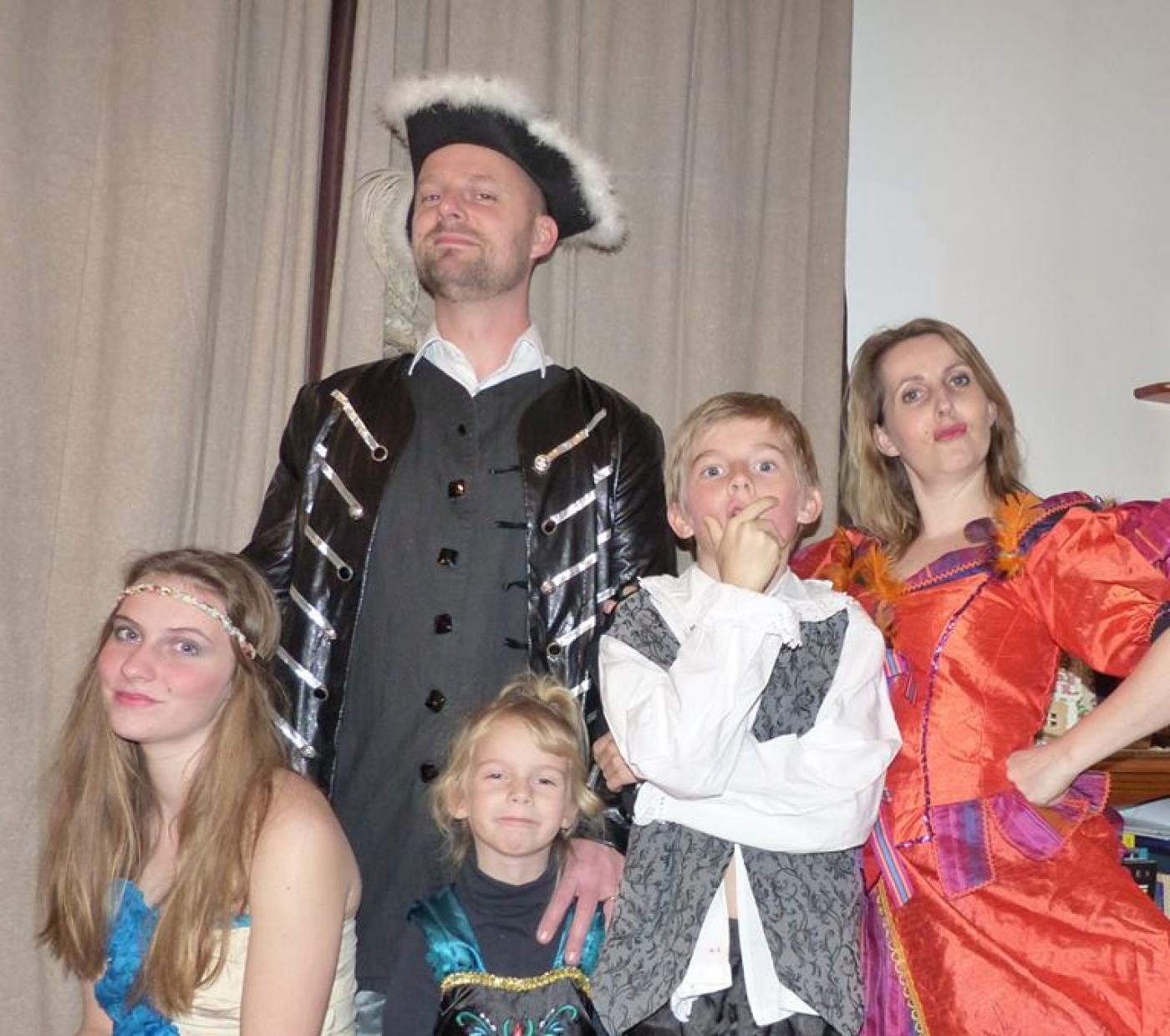 La famille Roi soleil !!