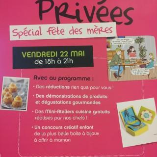 """Vente privée """"Spécial fête des mères"""""""