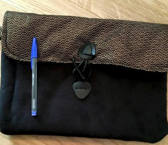 Housse de tablette ou de mini portable moltonnée