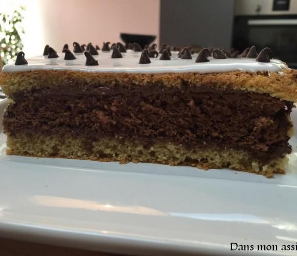 Gâteau Moelleux façon NAPOLITAIN