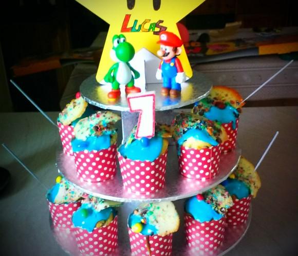 Cupcake pépit' chocolat et M&m's