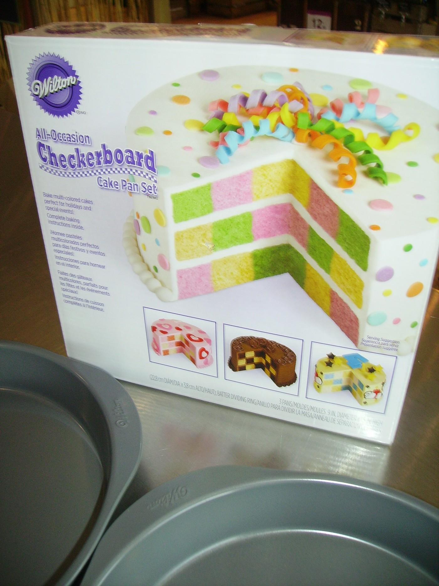 J'ai testé pour vous le moule à gâteau CHECKERDARD Marque : WILTON