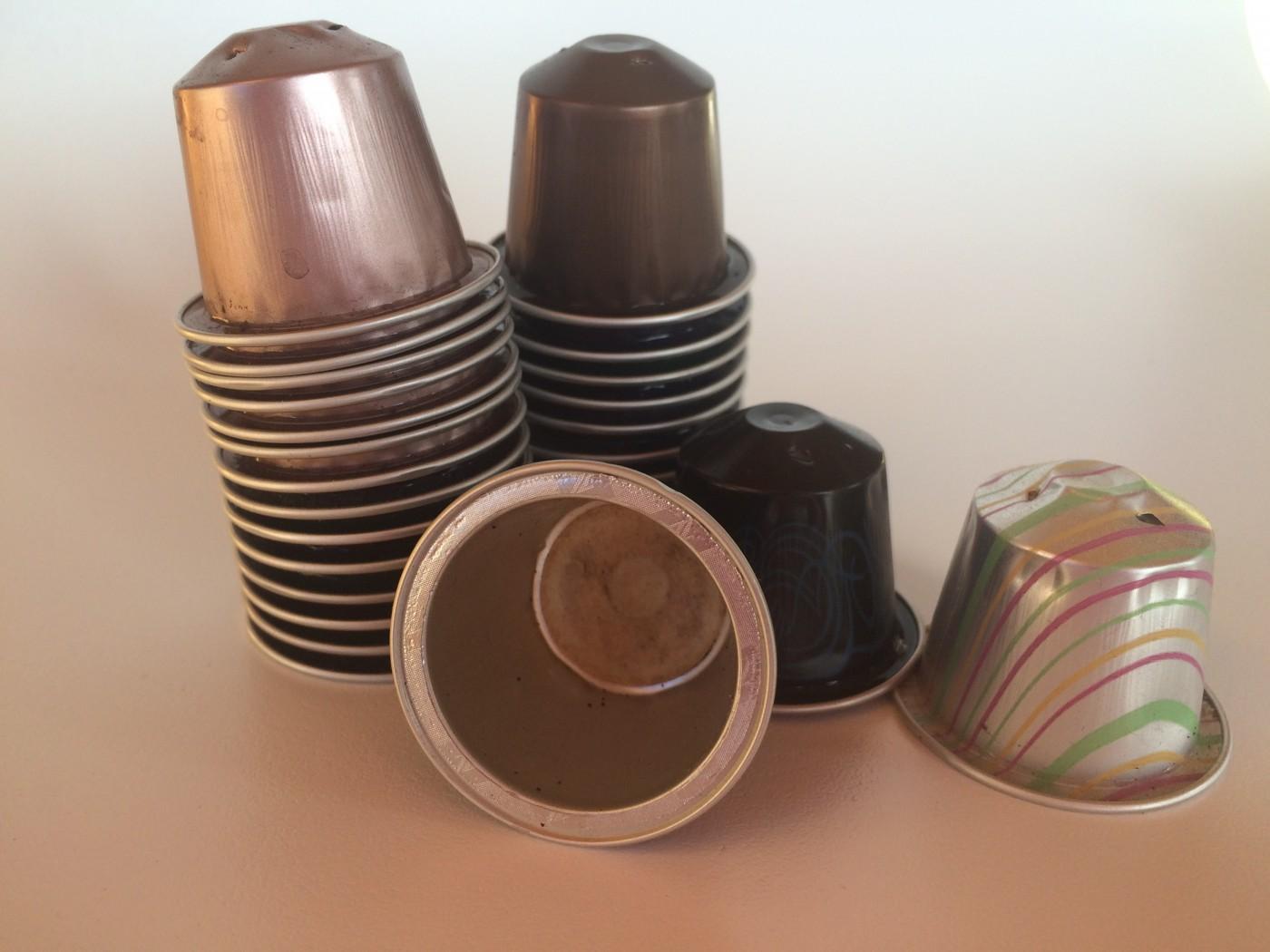 Que faire avec des capsules nespresso blog z dio - Objet fait avec des capsules nespresso ...