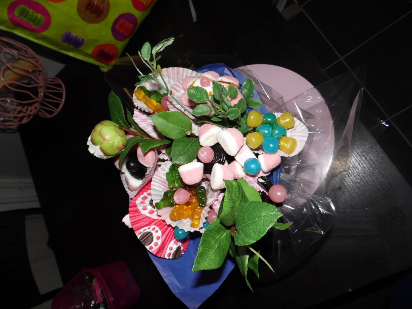Les mercredis de Lilou: bouquet de bonbons