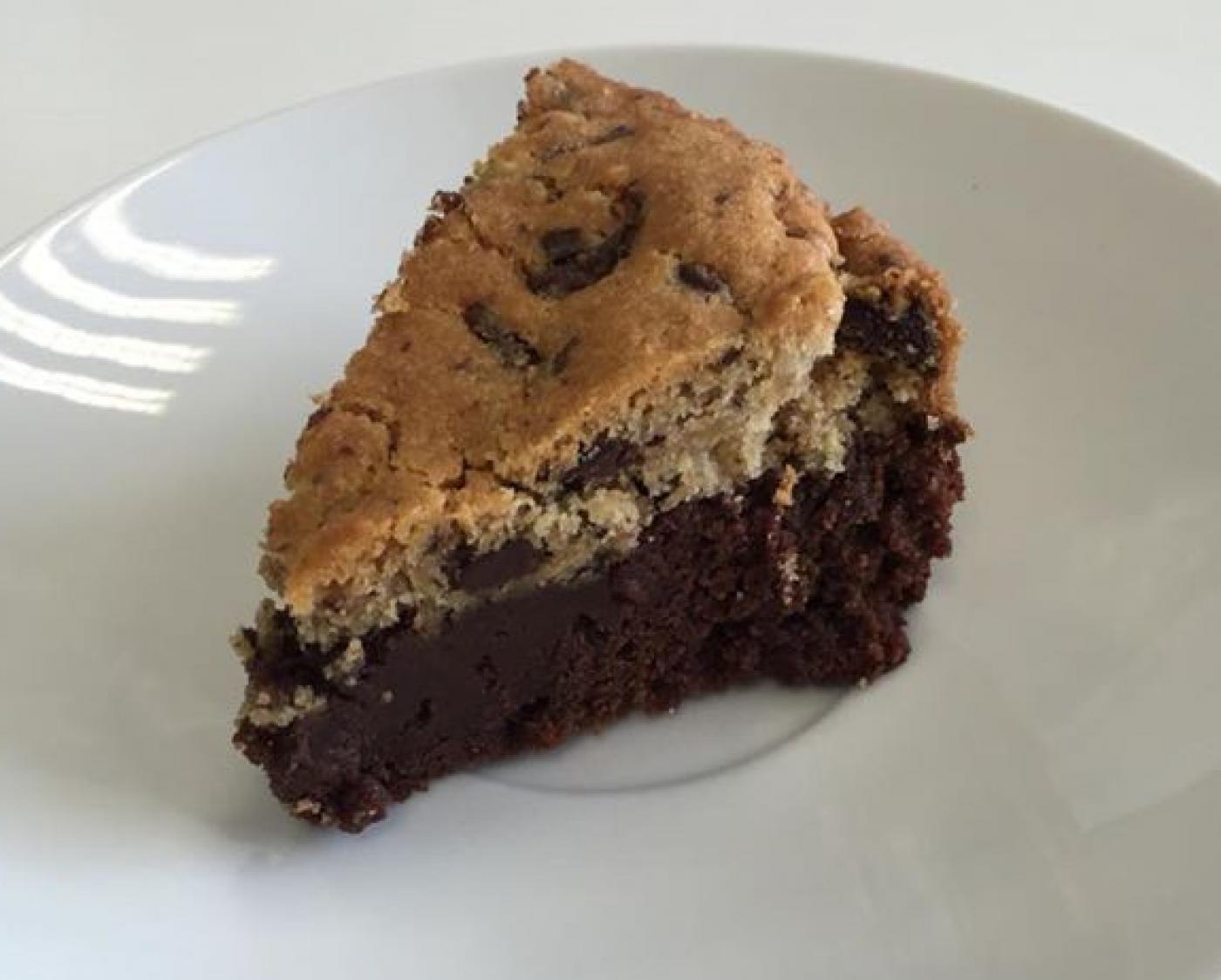 Le browkie : délicieux mélange entre un brownie et un big cookie