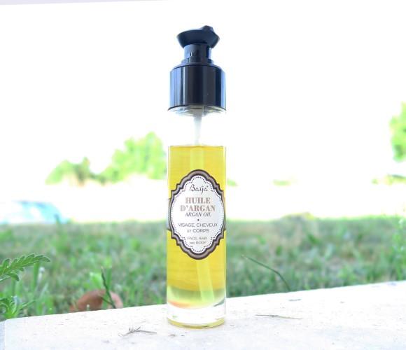 J'ai testé pour vous l'huile d'Argan Baïja pour visage, cheveux et corps