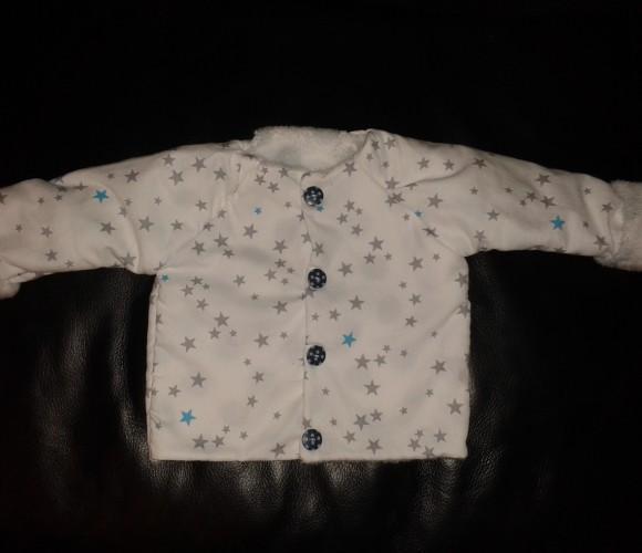 Après le doudou… la veste pour Bébé !