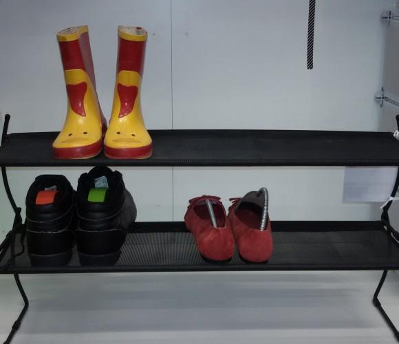 J'ai testé pour vous l'étagère à chaussures superposable