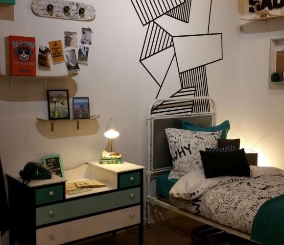La nouvelle chambre de Sacha!