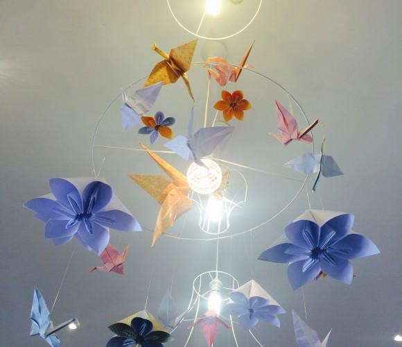 J'ai testé pour vous l'atelier luminaire Origami