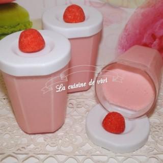 Yaourts au fraises Tagada