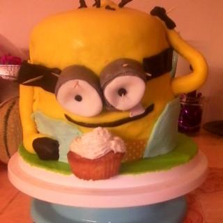 Le VRAI MINION cake