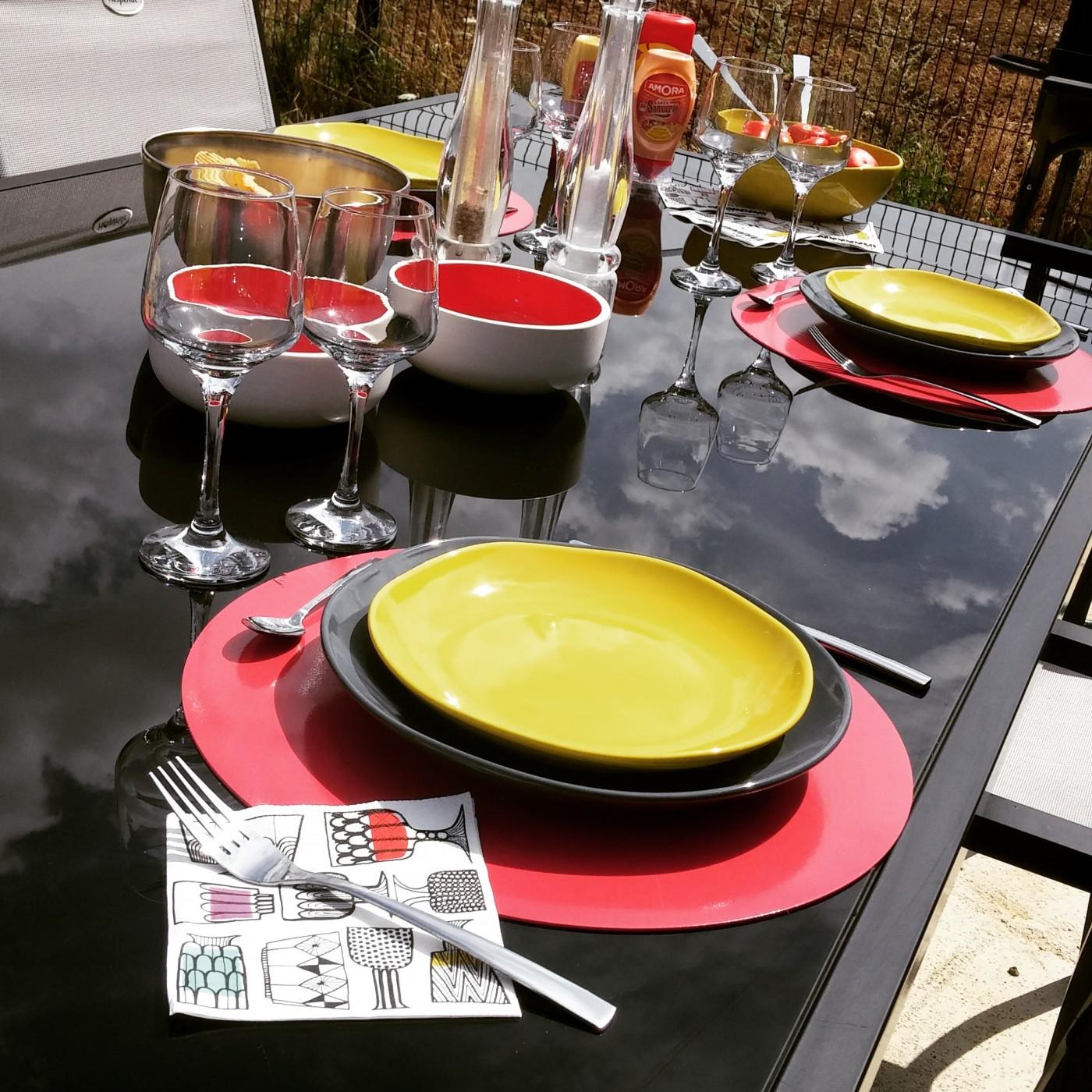 j 39 ai test pour vous l 39 art de la table by z dio blog z dio. Black Bedroom Furniture Sets. Home Design Ideas