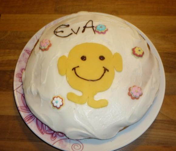 Mes premières gâteaux… décorés, pour l'anniversaire de ma fille !