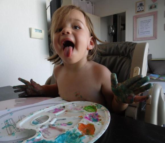 Les mercredis de Lilou : Maman je me suis taché!!!