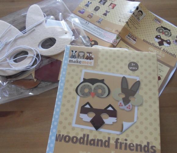 J'ai testé pour vous «woodland friends masks» de MAKE MEE