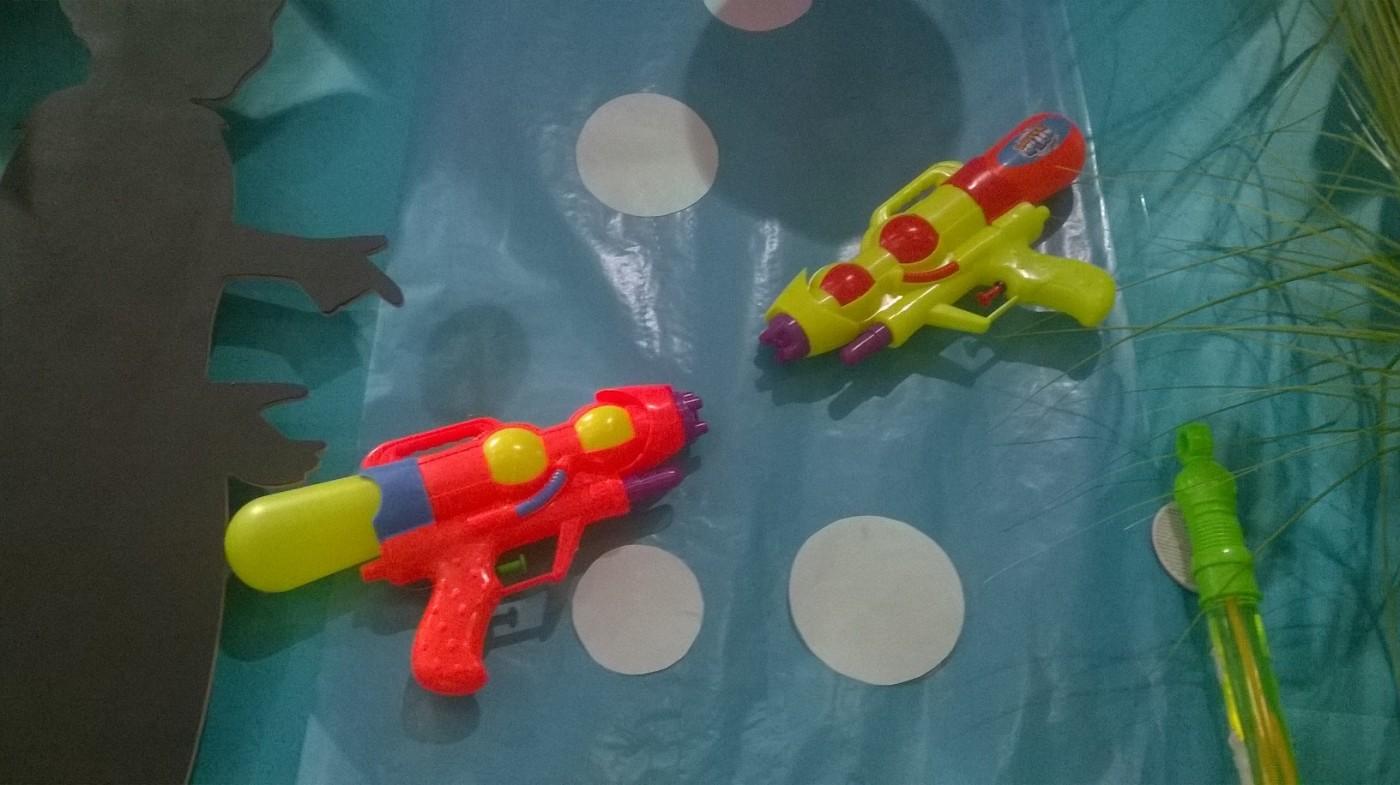 J'ai testé pour vous le pistolet à eau 28 cm grand modèle de chez CMP