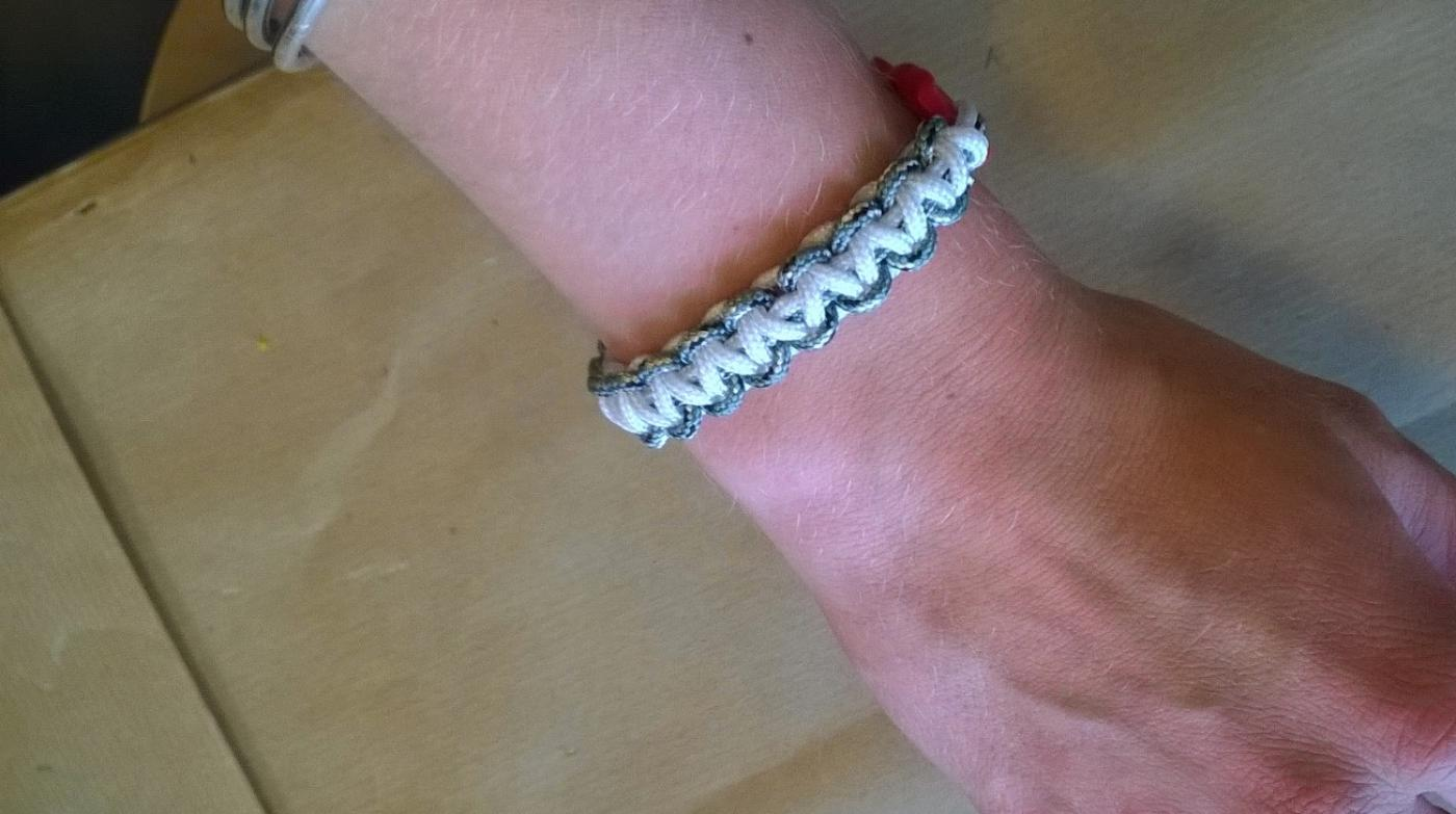 Bracelet en créacord
