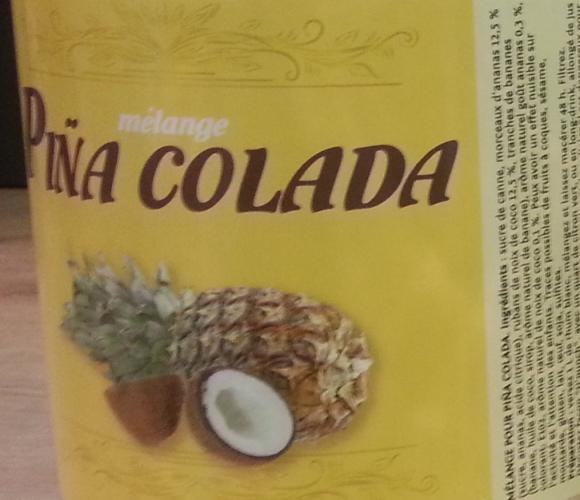 MÉLANGE PINA COLADA!!!!