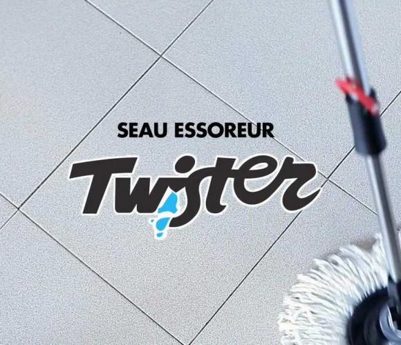 J'ai testé pour vous le Seau essoreur & Balai Twister Tatay
