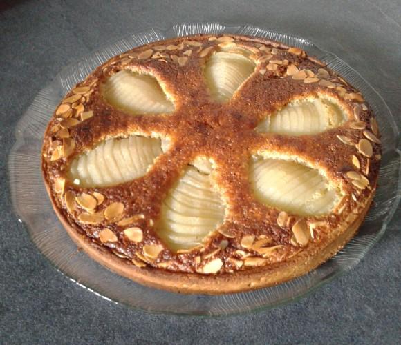 La traditionnelle Tarte Bourdaloue aux poires