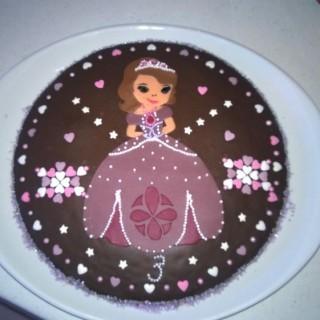 gâteau pricesse sofia