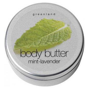 J'ai testé pour vous body butter mint-lavender greenland