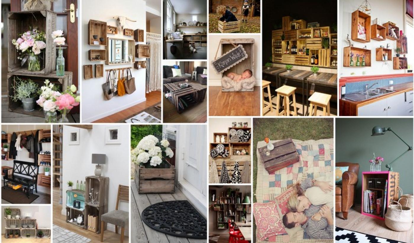 d coration inspiration caisses en bois blog z dio. Black Bedroom Furniture Sets. Home Design Ideas