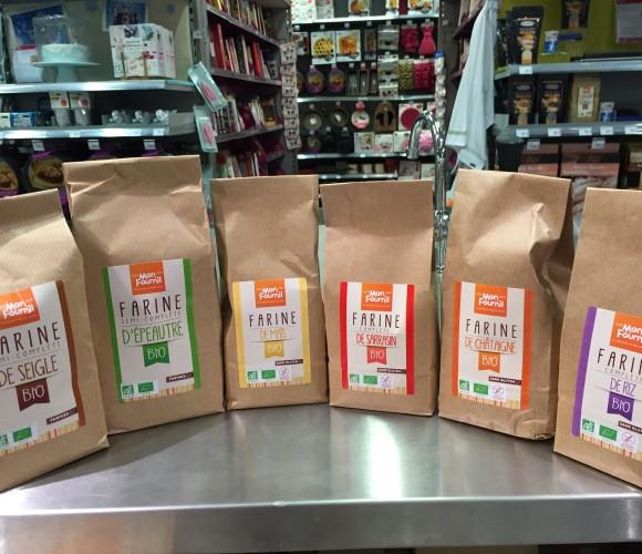 Nouveau dans votre magasin Zôdio Metz: des farines BIO et Sans Gluten