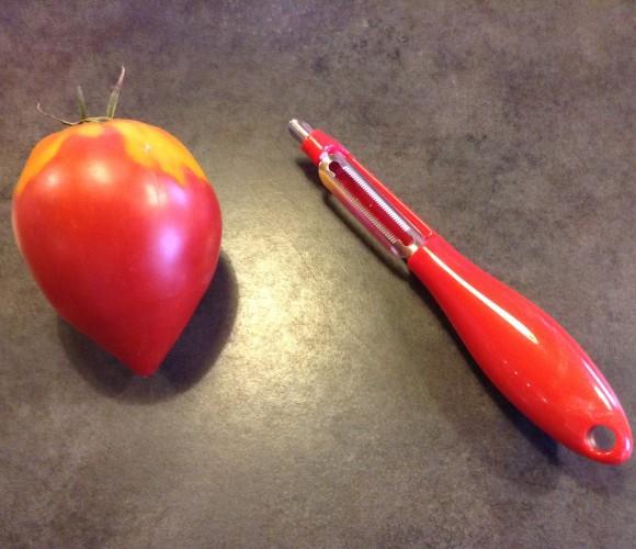 J'ai testé pour vous … l'éplucheur à tomates Zyliss