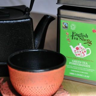 """J'ai testé pour vous le thé """"English Tea Shop - Green Tea Pomegranate"""""""