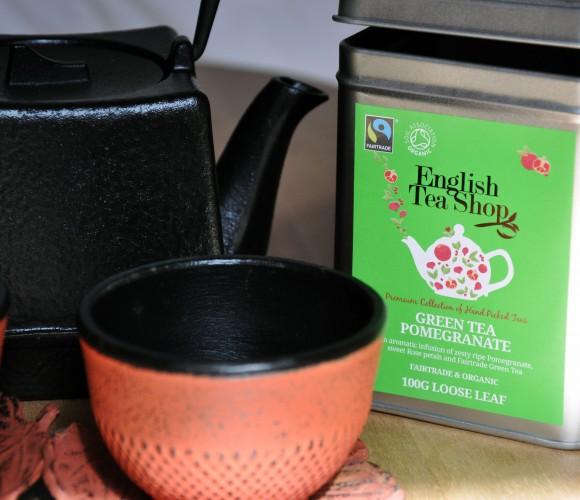 J'ai testé pour vous le thé «English Tea Shop – Green Tea Pomegranate»