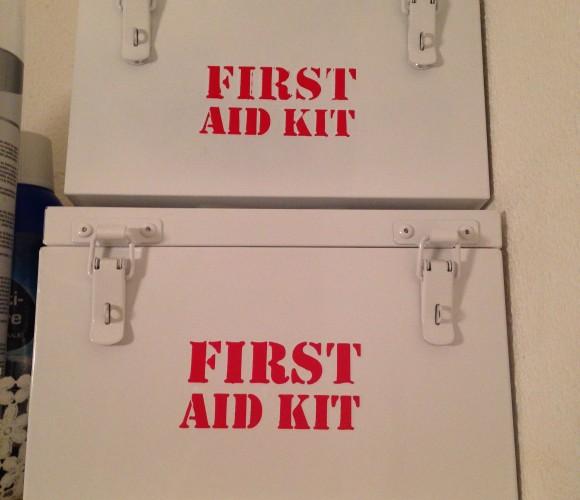 J'ai testé pour vous la boîte a pharmacie «first aid kit»
