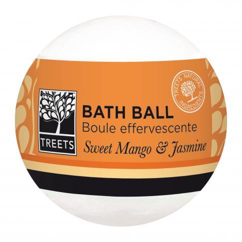 J'ai testé pour vous ma boule de bain mangue jasmin de Treets