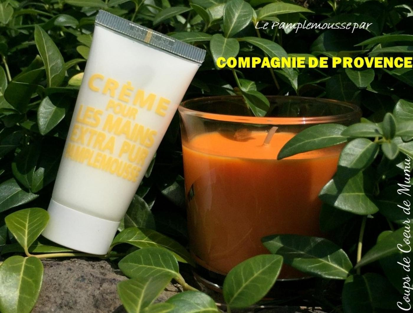 J'ai testé pour vous la Crème pour les Mains au Pamplemousse de COMPAGNIE DE PROVENCE