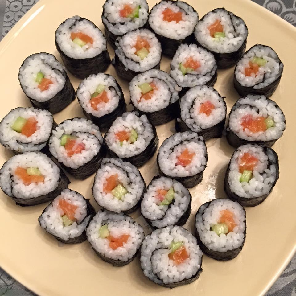 j 39 ai test pour vous le cours de sushis makis et yakitoris avec le chef d 39 atelier cuisine. Black Bedroom Furniture Sets. Home Design Ideas