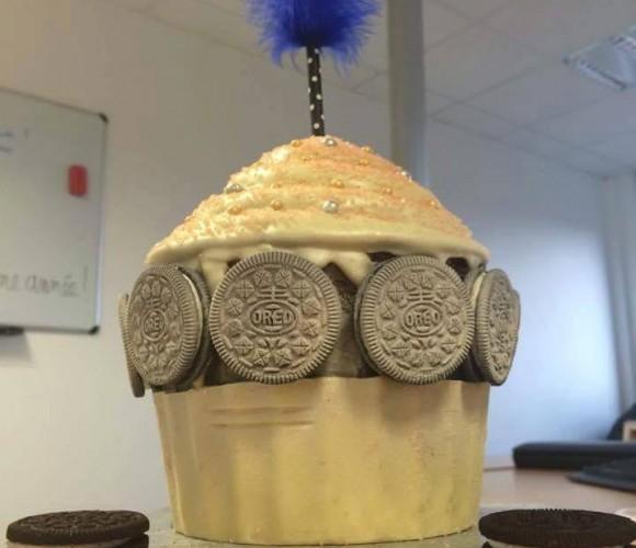 Un cupcake géant !