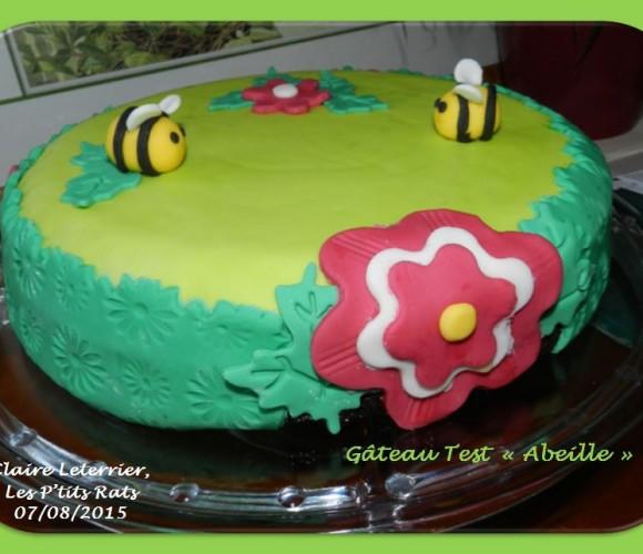 07 – Création d'abeille en pâte à sucre : Un test pour ma première commande (première utilisation de colorant)