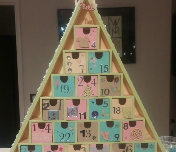 J'ai choisi pour ma fille : un calendrier de l'avent fait maison