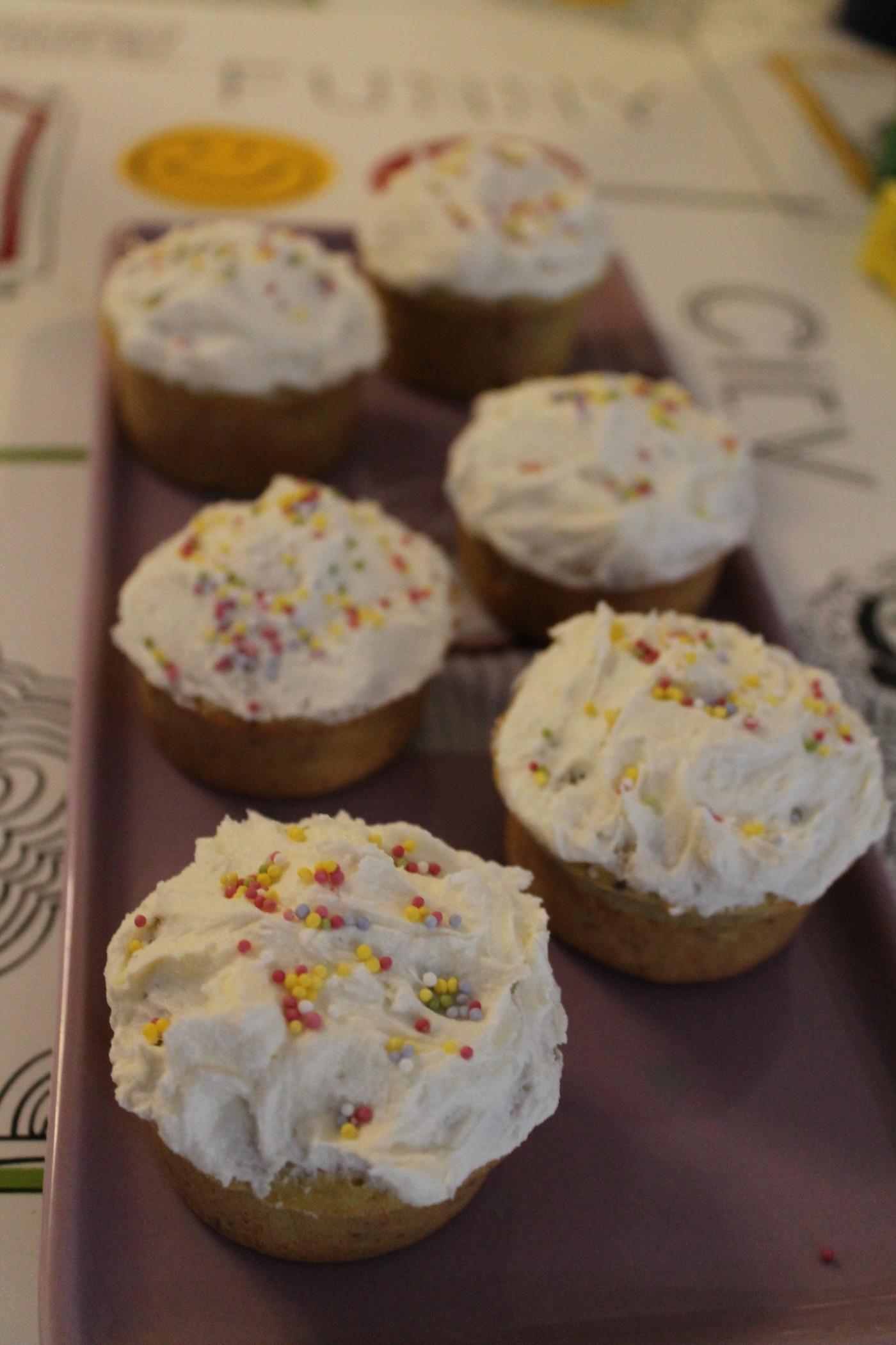 Cupcakes au potimarron et à la noisette