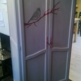 J'ai testé pour vous le pochoir oiseau de chez Zodio