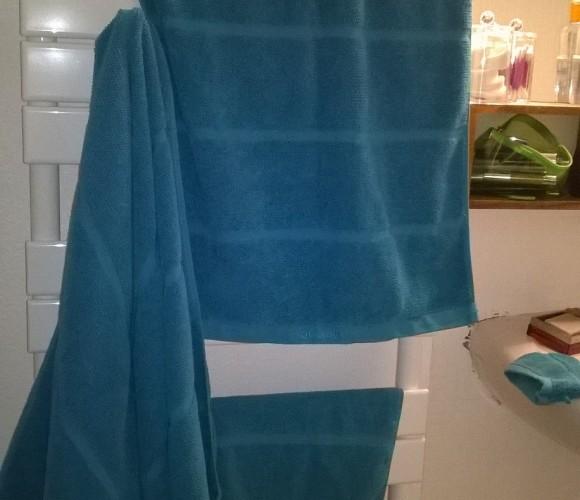 J'ai testé pour vous les serviettes aquanova Turquoise