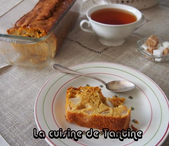 Cake poire et sucrine