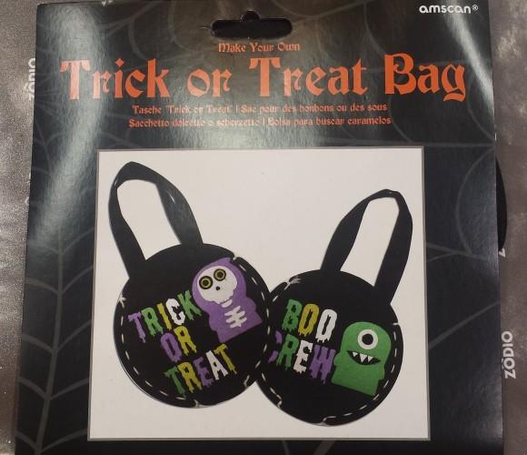 Trick or treat ? Comment créer un sac à bonbons