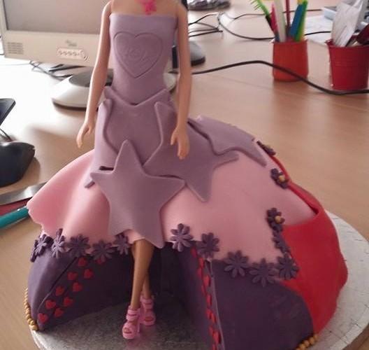 Barbie et cupcake assortis !