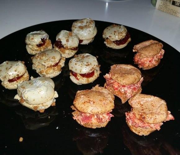 Des macarons salés ! => ratés mais très bon !