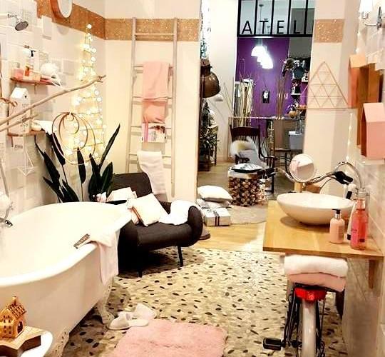 Découvrez le déclic de Noël » Nordique» version salle de bains A Zôdio Gennevilliers !