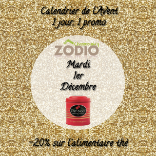 Ouvrez votre calendrier de l'avent Zôdio Chambourcy