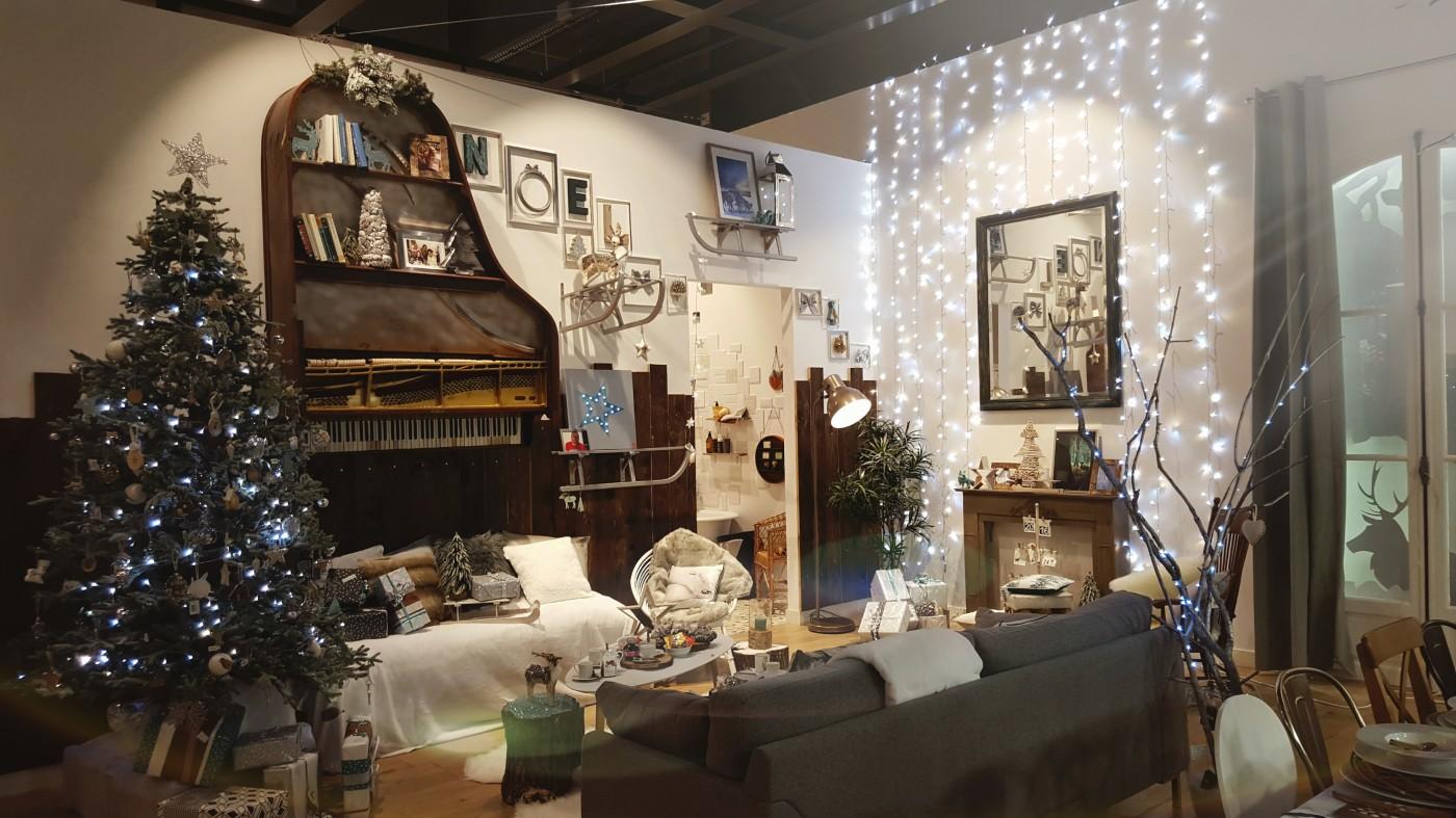 Votre maison rose de Gennevilliers vous présente son salon de Noël : Déclic Forestier !